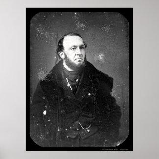 Lawyer Theodore Sedgewick Daguerreotype 1849 Poster