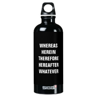 Lawyer Water Bottle SIGG .6L