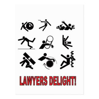 lawyers delight postcard