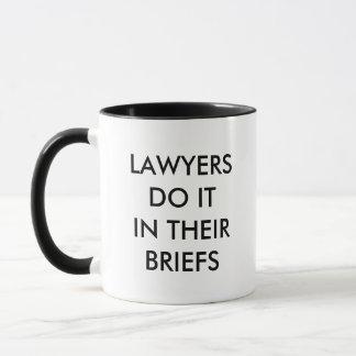Lawyers Do It Mug