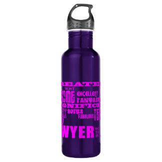 Lawyers : Pink Greatest Lawyer 710 Ml Water Bottle