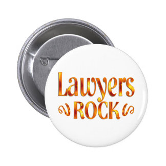 Lawyers Rock 2 Inch Round Button