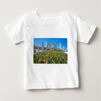 LAX Airport Sign Baby T-Shirt