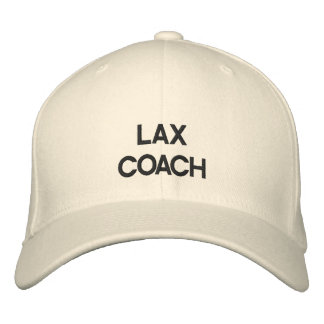 Lax Coach Hat Embroidered Hats