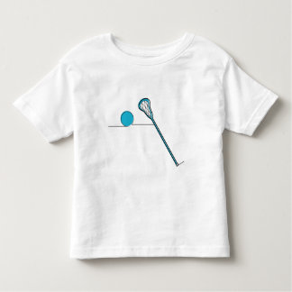 LAX Lacrosse stick and ball Toddler T-shirt