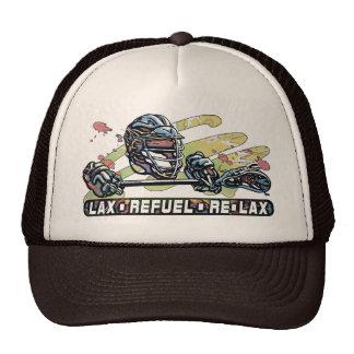 Lax Refuel Re-Lax Lacrosse Gear Trucker Hats