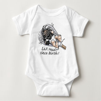 Laxhead_born_zazzle Baby Bodysuit