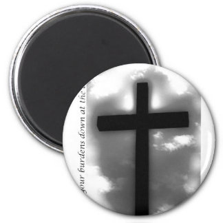 Lay it Down 2 Inch Round Magnet