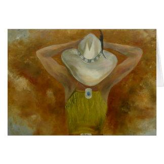 Lay My Cowgirl Down Card