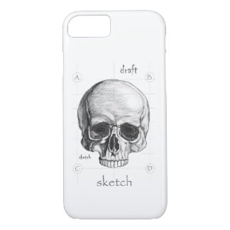 Layer for Cellular We sketch of the Skull iPhone 8/7 Case
