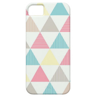 Layer for cellular with colored geometric figure iPhone 5 cases
