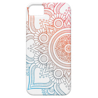 Layer for cellular with mandala colored iPhone 5 covers
