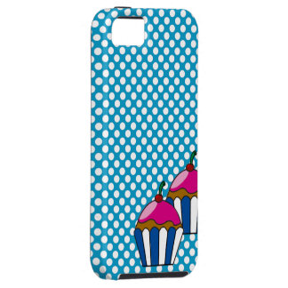 Layer for IPhone cupcake and small balls iPhone 5 Case