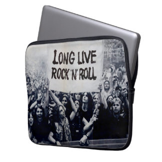 Layer for laptop neoprene 13 Counts Rock Roll Laptop Sleeve