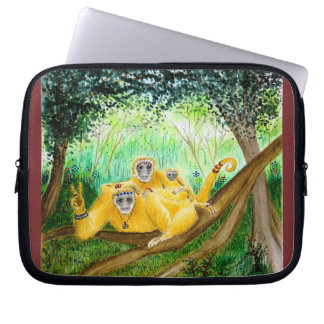 LAYER FOR LAPTOPS - FAMILY HIPPIE LAPTOP SLEEVE