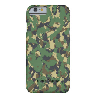 Layer green Camouflage Barely There iPhone 6 Case