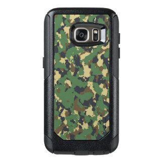 Layer green Camouflage OtterBox Samsung Galaxy S7 Case