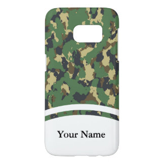 Layer green Camouflage Samsung Galaxy S7 Case