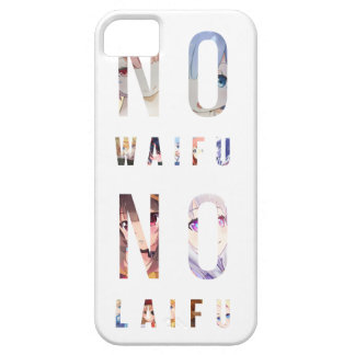 Layer - In the Waifu In the Laifu (White) iPhone 5 Covers