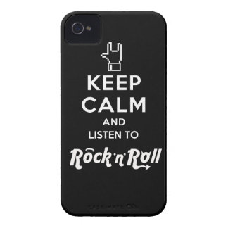 """Layer iPhone4 light Keep Calm… Rock """"n"""" Roll iPhone 4 Case"""