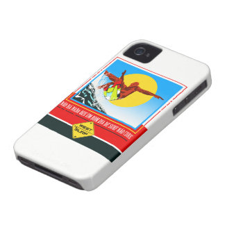 Layer iPhone 4 Day of Surf iPhone 4 Cover