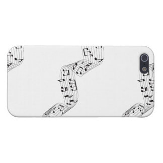 Layer iphone 5, musical Guideline iPhone 5 Case