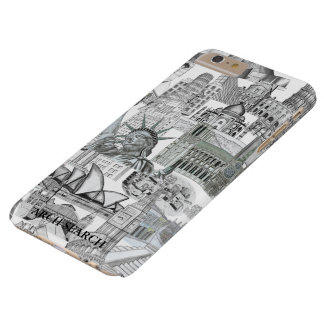 Layer iPhone 6 Mural Plus Arch Search Barely There iPhone 6 Plus Case