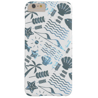 Layer Iphone Branca and Azul Marine Dreams Barely There iPhone 6 Plus Case