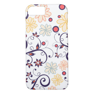 Layer Iphone Branca Flores of May iPhone 8/7 Case