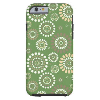 Layer Iphone Verde Florida Primavera Tough iPhone 6 Case