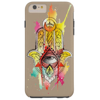 Layer Marry-Maté Tough iPhone 6/6s Plus Hamsa Tough iPhone 6 Plus Case