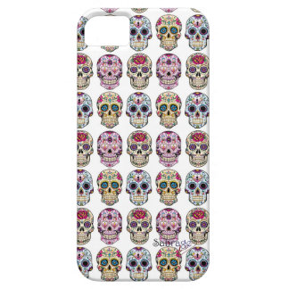 Layer of cellular Iphone 5 Skull by Sabrage iPhone 5 Case