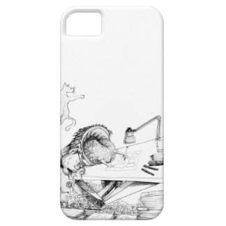Layer of Cellular Limb in requadros iPhone 5 Cover