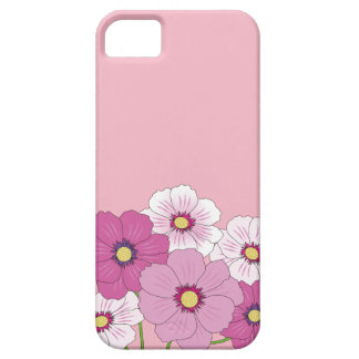 Layer of cellular rose with flowers iPhone 5 cases