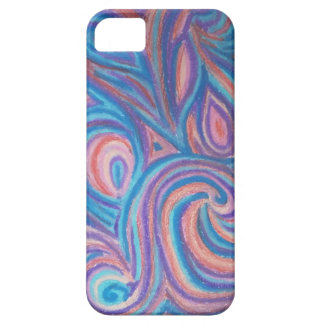 layer of cellular with drawing iPhone 5 case