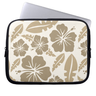 Layer of Late Flowery Notebook in the Havai Laptop Sleeve
