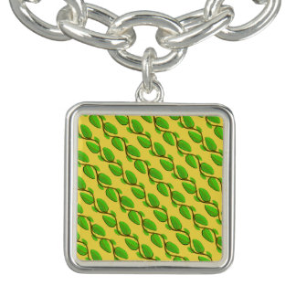 Layer of Leaves by Kenneth Yoncich Charm Bracelet