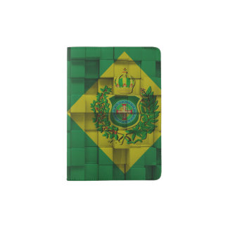Layer of Passport with the Imperial Flag Passport Holder