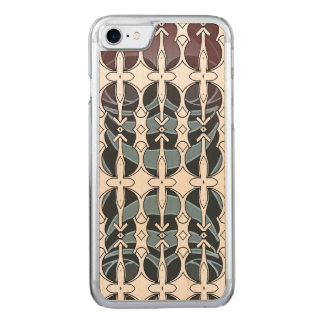 Layer Pattern Carved iPhone 8/7 Case