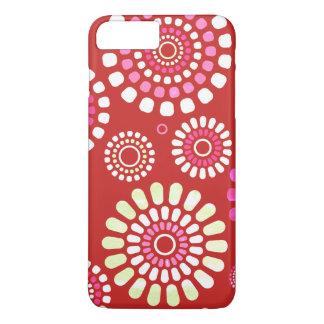 Layer Red Iphone Flowery Primavera iPhone 8 Plus/7 Plus Case