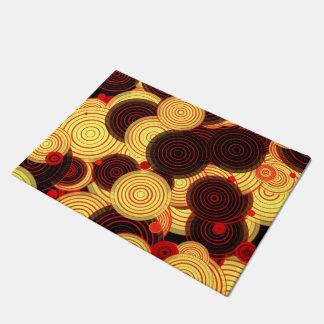 Layered circles doormat