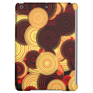 Layered circles iPad air covers