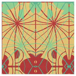 Layered Geometrics Fabric