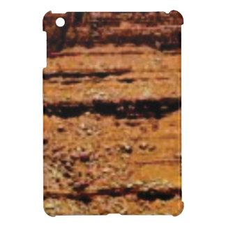 layered gravel wall iPad mini cover