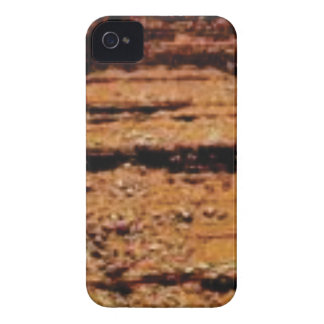 layered gravel wall iPhone 4 cover