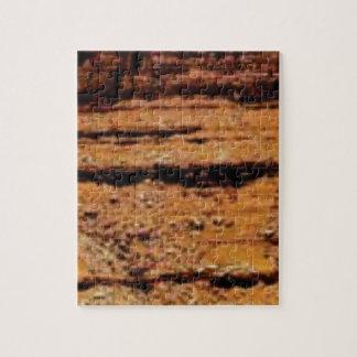 layered gravel wall jigsaw puzzle