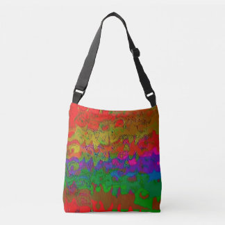 """Layered in Color"" Cross Body Tote Bag"