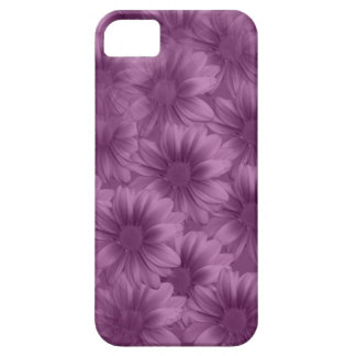 Layered Purple Gerbera Daisies Case For The iPhone 5