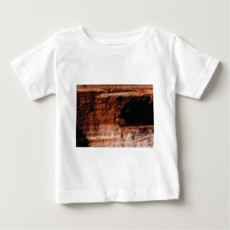 layered red rock cliffs baby T-Shirt