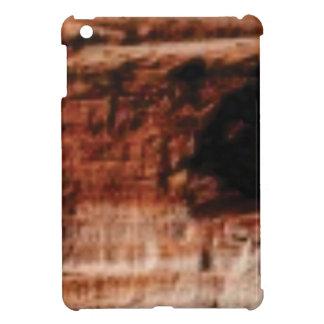 layered red rock cliffs iPad mini case